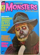 Rare Famous Monsters #109 original vintage poster signed by Basil Gogos 1974