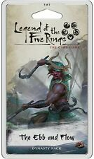 L5R Legend of the Five Rings LCG The Ebb and Flow Dynasty Pack Sealed New