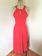Ladies BKMGC Red Sleeveless Maxi Dress Size L