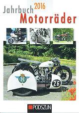 Jahrbuch 2016 - Motorräder - 144 Seiten, ca. 280 Abbildungen, broschiert