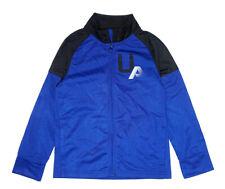 Under Armour Boys Cobalt Blue & Black Track Jacket Size 5