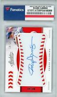 Roger Clemens Boston Red Sox Signed 2020 Panini Absolute #BMS-RC #18/26 Card