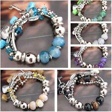 Ceramic Tibetan Silver Fashion Bracelets