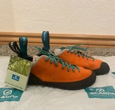 Scarpa Climbing Shoes - Mandarin Orange - New In Box - Us Woman's Size 9