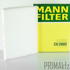 Mann Filter CU 2882 Interior Filter Pollen Filter Audi Seat Skoda VW Golf Passat