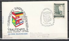 Austria, 1961 issue. 03/Aug/61 cancel. Europa-Scout cancel on Envelope.