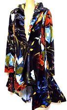 plus sz XXS / 12 TS TAKING SHAPE Heritage Jacket luxe vibrant stretch velvet NWT
