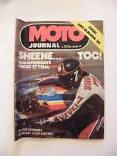 Moto Journal Juin 1975 N°225 650 Yamaha XS Sheene