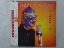 Todd Rundgren A Cappella Warner Bros. Records P-13186 Japan  VINYL LP OBI
