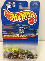 1998 HOT WHEELS SUPER FAST #973 PROBE FUNNY CAR MEGA GRAPHICs HW VARIATION 1:64