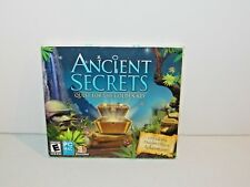Ancient Secrets: Quest for the Golden Key (Windows/Mac, PC CD ROM 2009) NEW