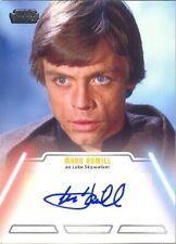 Star Wars Jedi Legacy Mark Hamill As Luke Skywalker Autograph Card Mint! Rare!