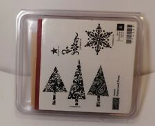 Stampin' Up! Patterned Pines - 6 stamp set