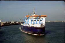 EUROPEAN PATHWAY P&O SHIP NORTH SEA CAR FERRY HULL 1997 ORIGINAL SLIDE+COPYRIGHT