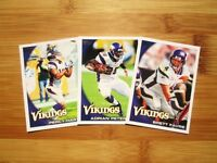 2010 Topps Minnesota Vikings TEAM SET - Brett Favre