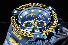 Invicta 53mm Reserve Bolt Hercules Swiss BLUE LABEL Chronograph SS Watch