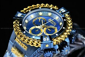 Invicta 53mm Reserve Bolt Hercules Swiss BLUE LABEL Chronograph SS Watch