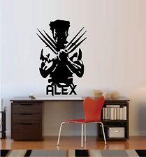Wolverine (Custom Name) ~ Wall Decal