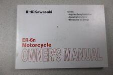 OEM Kawasaki ER-6n ER6N ER65 ER6 Owners Manual USA SHIPPED
