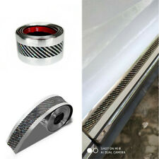 Car Sticker Carbon Fiber Laser Rubber DIY Door Sill Protector Edge Guard Strip