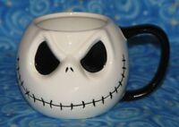 Jack Skellington 3D Face Mug Cup Disney The Nightmare Before Christmas NBC NBX