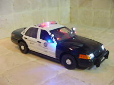 Los Angeles Police Department 1/18 Scale Diecast Car Custom Built Ut Motormax