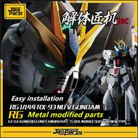 JAOparts Metal Modified parts set for Bandai RG 1/144 RX-93 Nu V Gundam