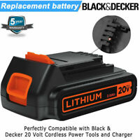 For Black & Decker LBX20 LBXR20-OPE 40Wh 20V Max LITHIUM Battery LBXR2020-OPE US