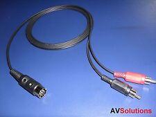 7 Mtrs. - RCA Plugs to Bang & Olufsen B&O 7-Pin DIN Plug (HQ)