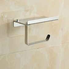 Wall Mounted Chrome Stainless Steel Bathroom Accessories Shelf Storage