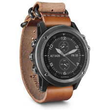 Garmin Fenix 3 Sapphire GPS Watch - Gray w/ Leather Strap (010-01338-80)