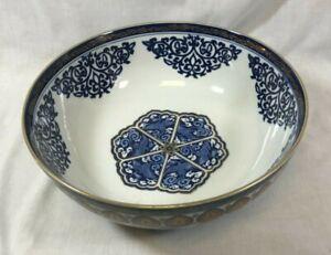 Japanese Imari style large bowl.