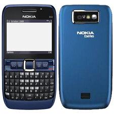 Nokia E63 Mobile - WiFi ! ULTRA BLUE ! QWERTY ! GSM ! FM ! Call Recording