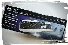 Tastiera Wireless Amdstrad per PC Modello ZTW3000