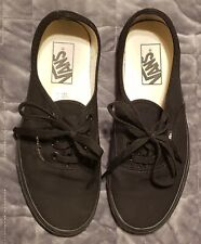 Women's Black VANS Shoes Size 8