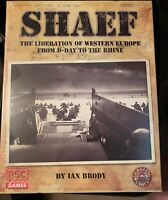 SHAEF TheLiberation Of Western Europe D-Day Griggling/PSC Games SW FREE US Ship
