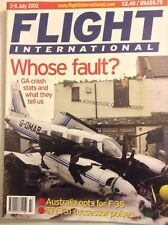 Flight International Magazine GA Crash Stats July 2002 FAL 091717nonrh