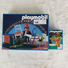 *NEW IN BOX* SEALED Vintage Playmobil Romani Circus Magician LOT! 3725 3737