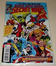 MARVEL SECRET WARS # 1 HALLOWEEN COMIC FEST Marvel PROMO Comic 2014 NM