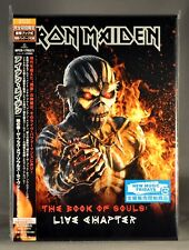 IRON MAIDEN Book Of Souls LIVE DeLux Ed JAPAN 2 CD's BOOK SlipCase NEW 1st Press