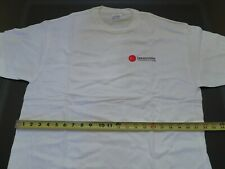 Database funny t-shirt, white, size L