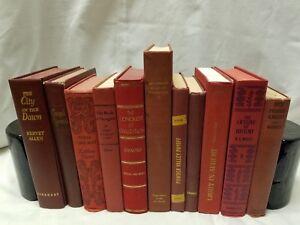 Old/Vintage/Antique/ Decorative, Decor, Staging HB Books Lot *CHOOSE YOUR COLOR*
