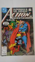Action Comics #593 October 1987  DC Comics Superman Mr Miracle