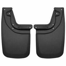Husky Liners 57931 Rear Mud Flaps Black For 2005-2015 Toyota Tacoma