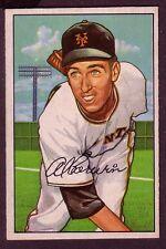 1952 BOWMAN AL CORWIN  CARD NO:121 NEAR MINT