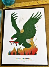 The National Mini-Concert Poster Reprint for 2014 Brooklyn NY 14x10