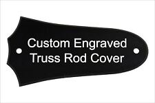 Custom Engraved Truss Rod Cover fits most 2 hole Taylor guitars