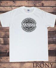 Camiseta para hombre Yoga Namaste Estampado Étnico Mandala TS1890B
