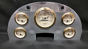 1956 FORD CAR GAUGE CLUSTER GOLD