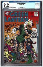 GREEN LANTERN #66 CGC 9.2 (1/69) DC COMICS